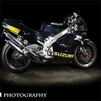 Light Painting Motorcycles
