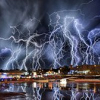 Lightning and landscapes by Alexius van der Westhuizen
