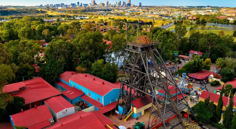 Johannesburg landscapes and panoramics