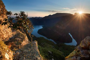 Blyde River Canyon Sunrise