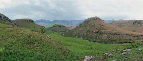 Giant's Castle Nature Reserve is located in the central Drakensberg and is part of uKhahlamba/Draken