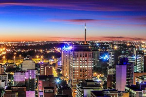 Braamfontein and Brixton tower