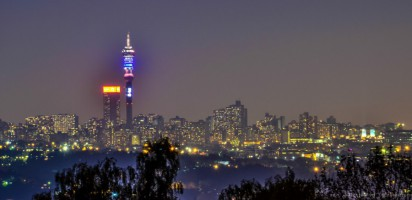 Johannesburg from Northcliff Hill
